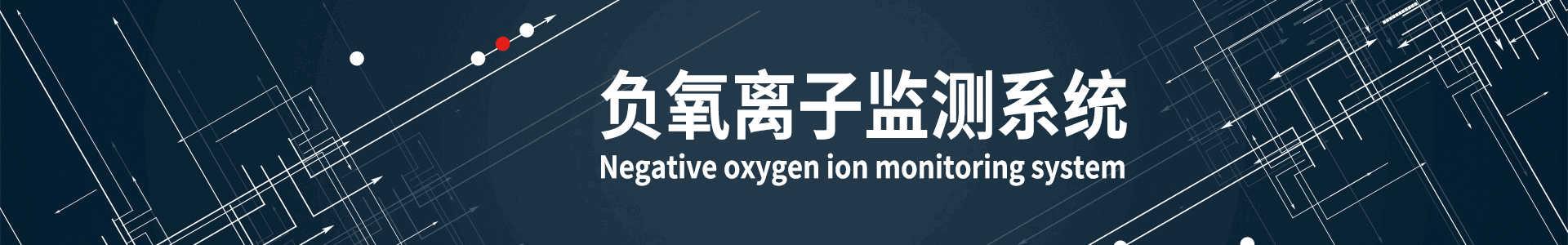 负氧离子监测系统banner
