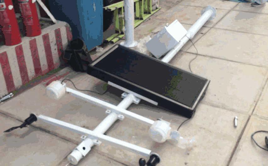 安装扬尘监测设备