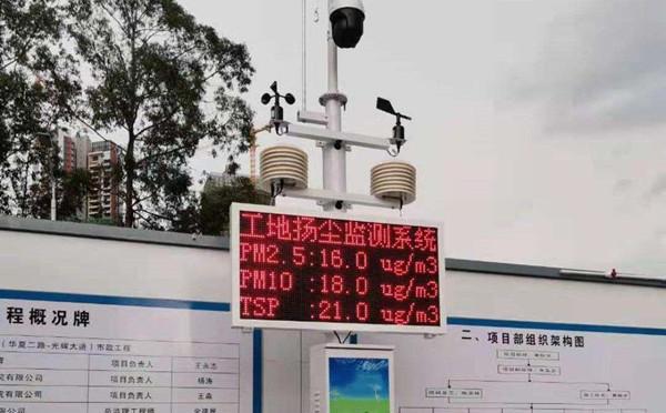 工地扬尘在线监测设备管理制度